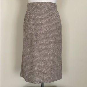 Diane Von Furstenberg vintage midi skirt Small